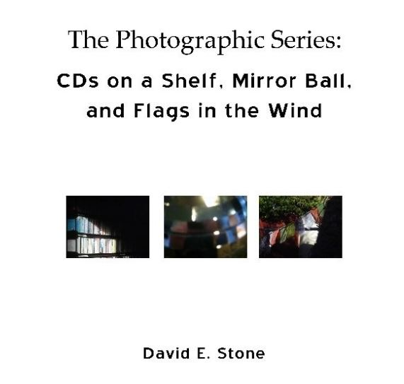 Cover of CDs on a Shelf, Mirror Ball and Flags in the Wind